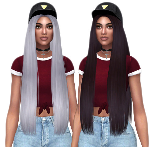 Kenzar Sims: Butterfly`s 140 hair retextured for Sims 4
