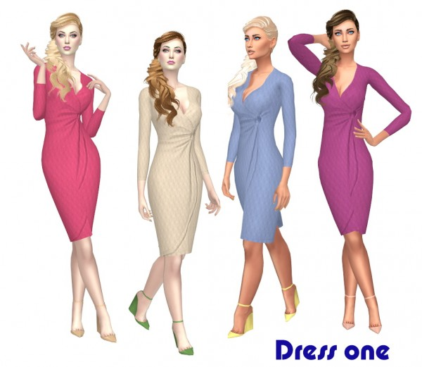 Sims Fun Stuff: Persephone hair recolor for Sims 4