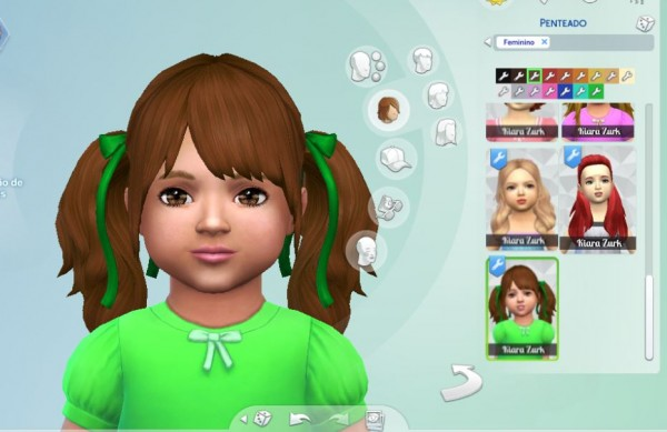 Mystufforigin: Rival Hairs for Toddlers for Sims 4