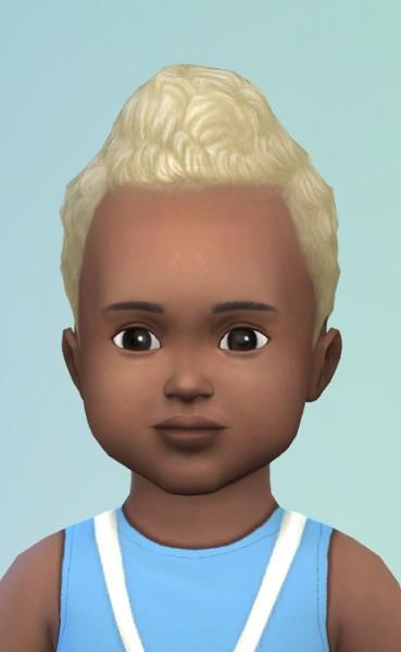Birksches sims blog: Toddlers ShortCurls edit & Mega Curls edit for Sims 4