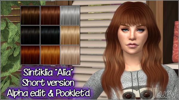 Mertiuza: Sintiklia`a Alia hair retextured for Sims 4