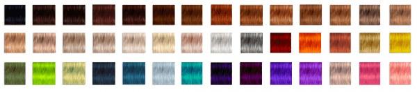 Pllumbobbilypixels: Nightcrawler`s Dayana hair retextured for Sims 4