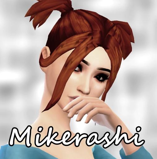 Mikerashi: Anastasia Hair for Sims 4