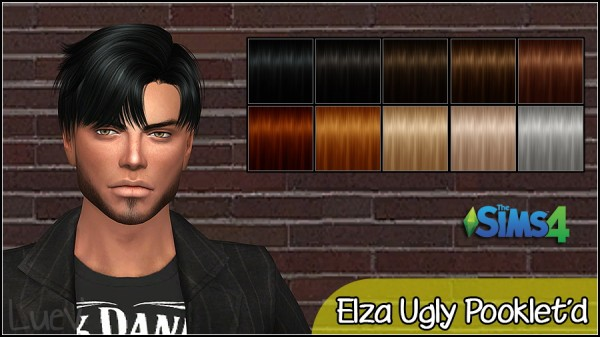 Mertiuza: Elza ugly pooklet for Sims 4