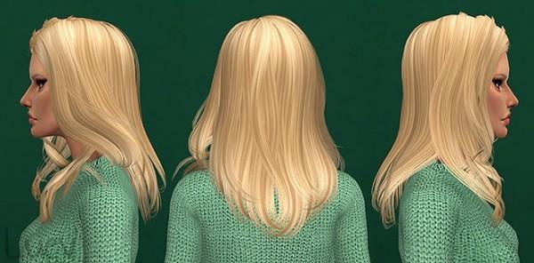 Mertiuza: Newsea`s Passenger hair retextured for Sims 4