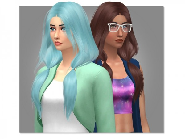 The Sims Resource: Ignition Hair Retextured by Eenhoorntje for Sims 4