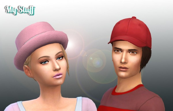 Mystufforigin: Brushed Hairstyle Conversion for Sims 4