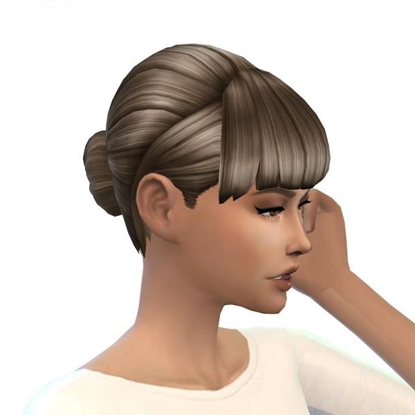 Deelitefulsimmer: Lil Bun hair for Sims 4