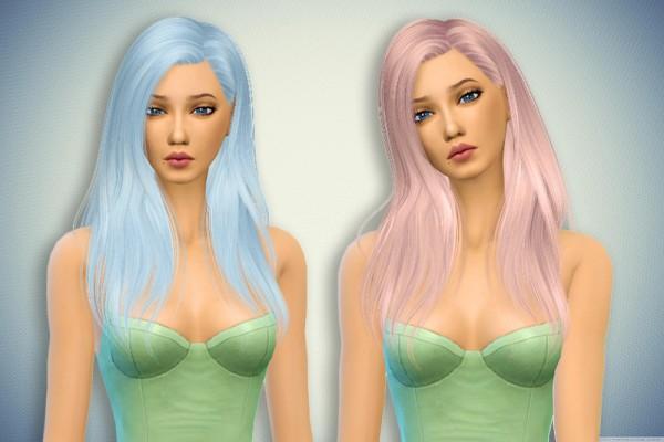 Pllumbobbilypixels: Anto`s Sunrise Hair Retextured for Sims 4