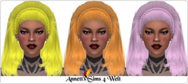 Annett`s Sims 4 Welt: Tsminh`s Britney hair recolored for Sims 4