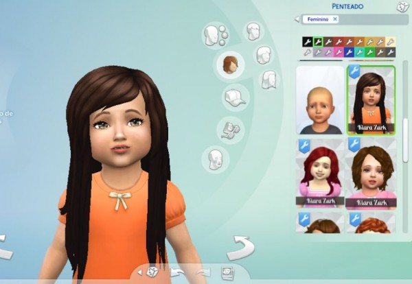 Mystufforigin: Cute Hairstyle for Toddlers for Sims 4