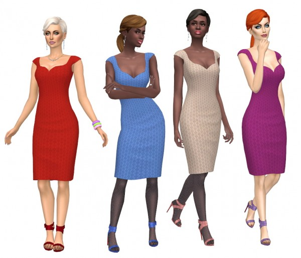 Sims Fun Stuff: Invitation pony hair recolor for Sims 4