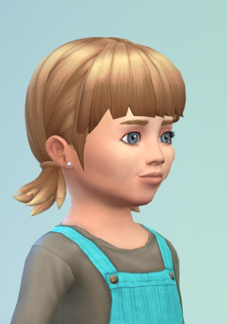 Birksches sims blog: Pigsy Baby Hair for Sims 4