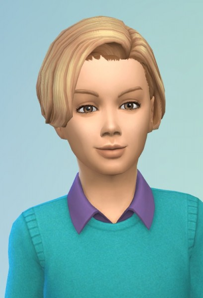 Birksches sims blog: Willeby Kids Hair for Sims 4