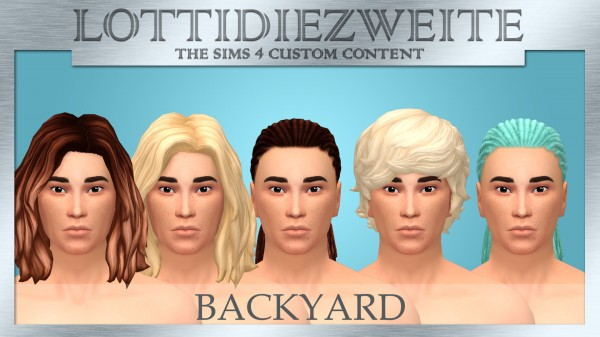 Simsworkshop: Backyard Stuff Recolours by lottidiezweite for Sims 4
