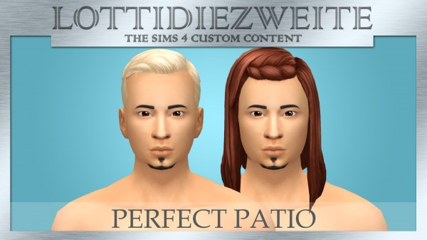Simsworkshop: Perfect Patio hair recolours for Sims 4