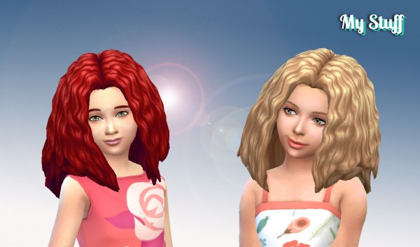 Mystufforigin: Melodic Waves retextured for Sims 4