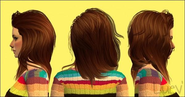 Mertiuza: Sintiklia`a Queen hair retextured for Sims 4