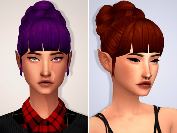 Tranquility Sims: Enrique`s Hilary hair Recolored for Sims 4