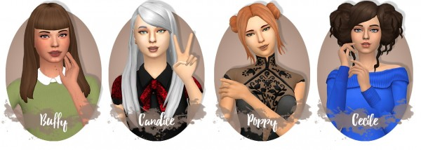 Miss Bunny Gummy: Hair dump pt 1 for Sims 4