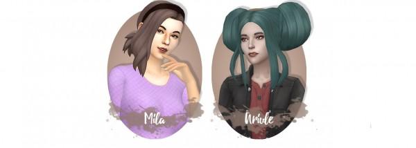 Miss Bunny Gummy: Hair dump pt 1 for Sims 4