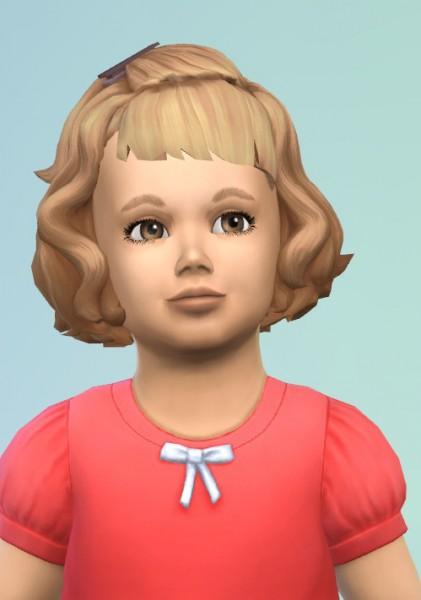 Birksches sims blog: Vintage Toddler Hair for Sims 4
