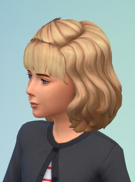 Birksches sims blog: Vintage Girly Hair for Sims 4