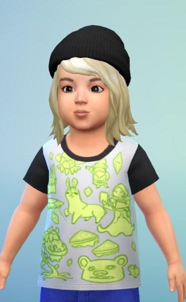 Birksches sims blog: Babys Bob hair bor boys for Sims 4