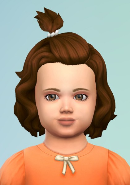 Birksches sims blog: Toddlers Clip Hair for Sims 4