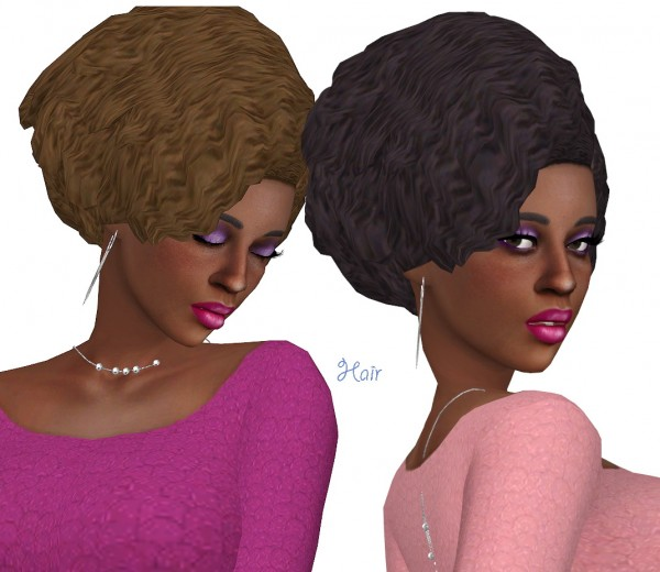 Sims Fun Stuff: Sunset Hair recolor for Sims 4