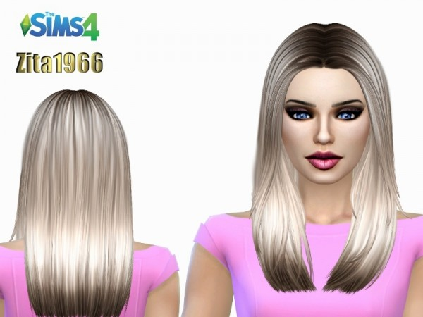 The Sims Resource: New Yorker Highlights recolored by ZitaRossouw for Sims 4