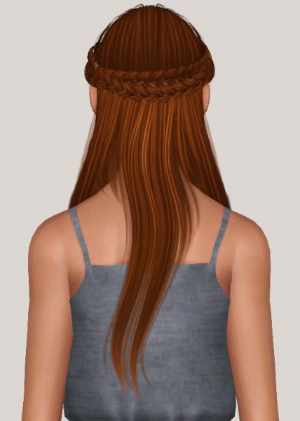Slythersim: Anto`s Sun, Surrender and Thorns hair retextures for Sims 4