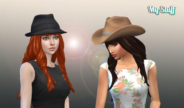 Mystufforigin: Emma Hairstyle for Sims 4