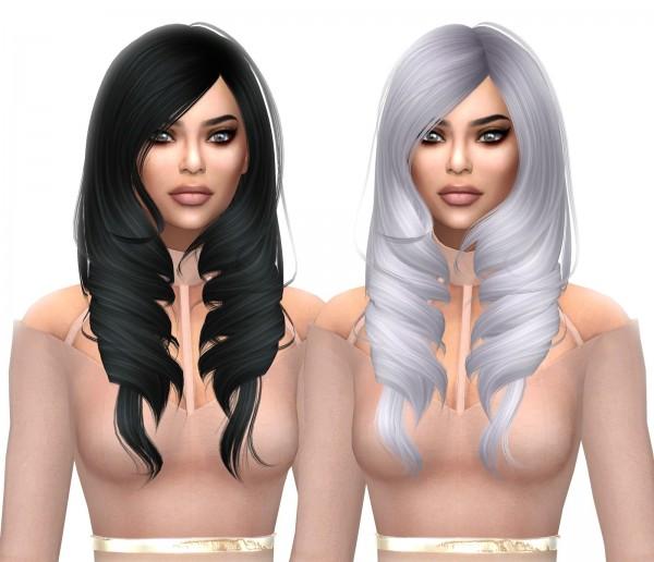 Kenzar Sims: Anto`s Bamboo naturals hair recolor for Sims 4