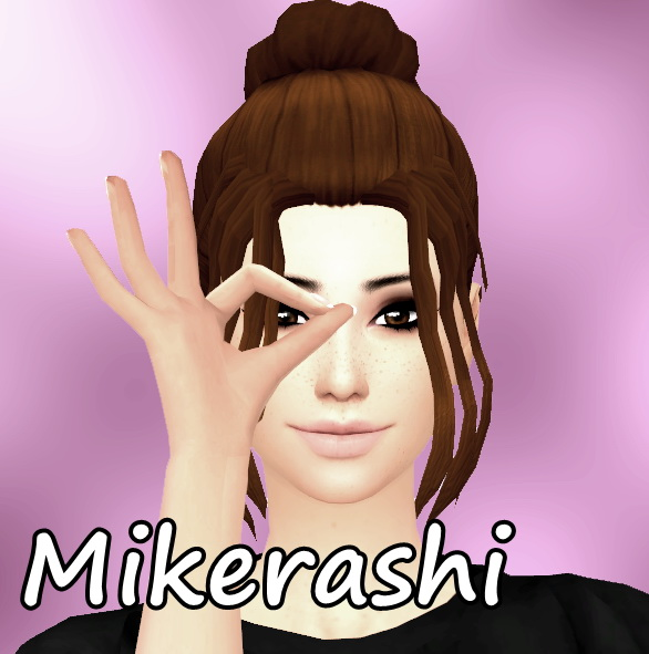 Mikerashi: Invigoration Hair for Sims 4