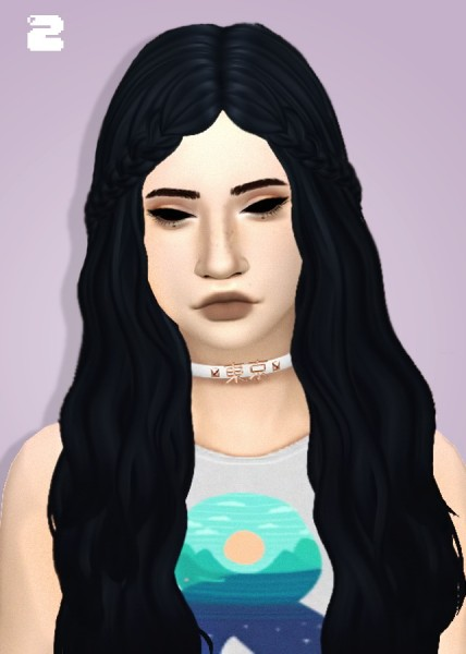 Tranquility Sims: Hair Dump All hairs Clayified for Sims 4