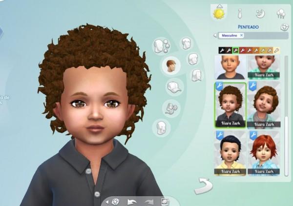 Mystufforigin: Close Curls for Toddlers for Sims 4