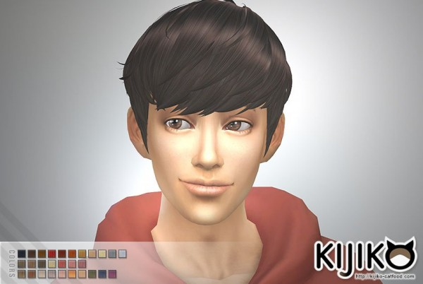Kijiko Sims: Hairstyles Updated for Sims 4