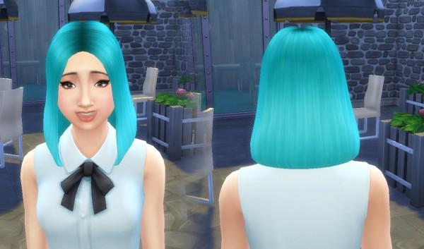 Mystufforigin: Olivia Hairstyle for Sims 4
