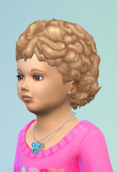 Birksches sims blog: CurlyHead Toddler for Sims 4
