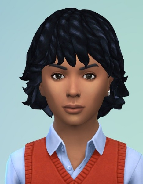 Birksches sims blog: Dread  Bob hair for him for Sims 4
