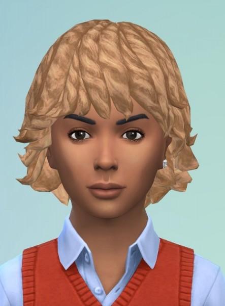 Birksches sims blog: Dread  Bob hair for him for Sims 4