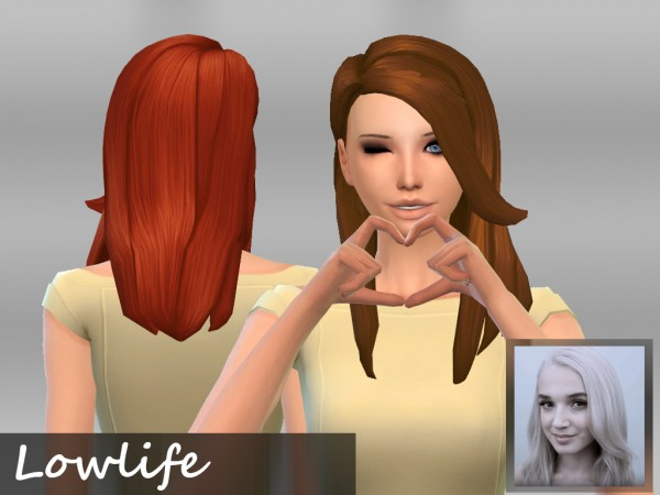 Mikerashi: Lowlife Hair for Sims 4