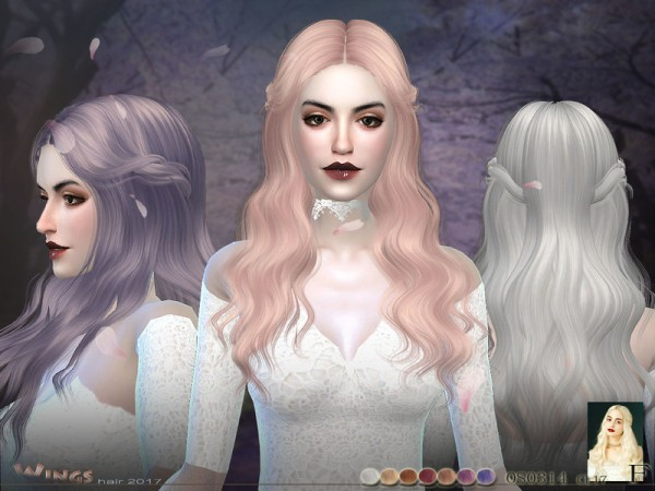 The Sims Resource: Wings OS0314 F for Sims 4
