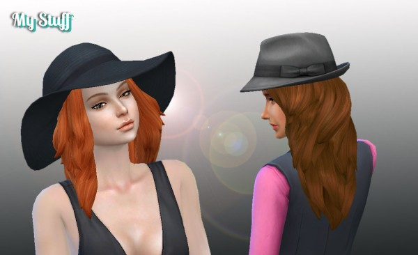 Mystufforigin: Autumn Hairstyle for Sims 4