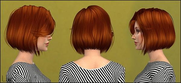 Mertiuza: Anto`s Celebration Hair retextured for Sims 4