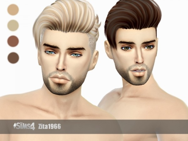 The Sims Resource: Darren Hair by ZitaRossouw for Sims 4