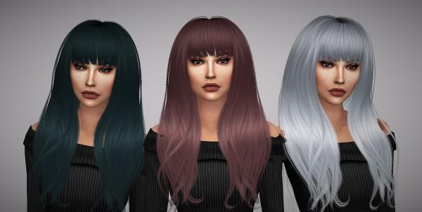 Aveline Sims: Anto`s Hero hair retextured for Sims 4