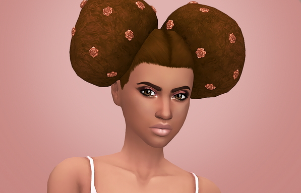 Grimcookies: Bryce hair for Sims 4