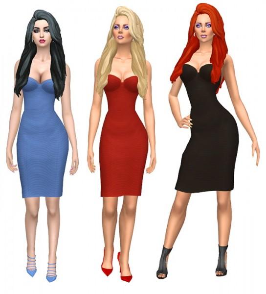 Sims Fun Stuff: Hairs dump recolor for Sims 4